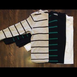 4, boys long sleeve shirts